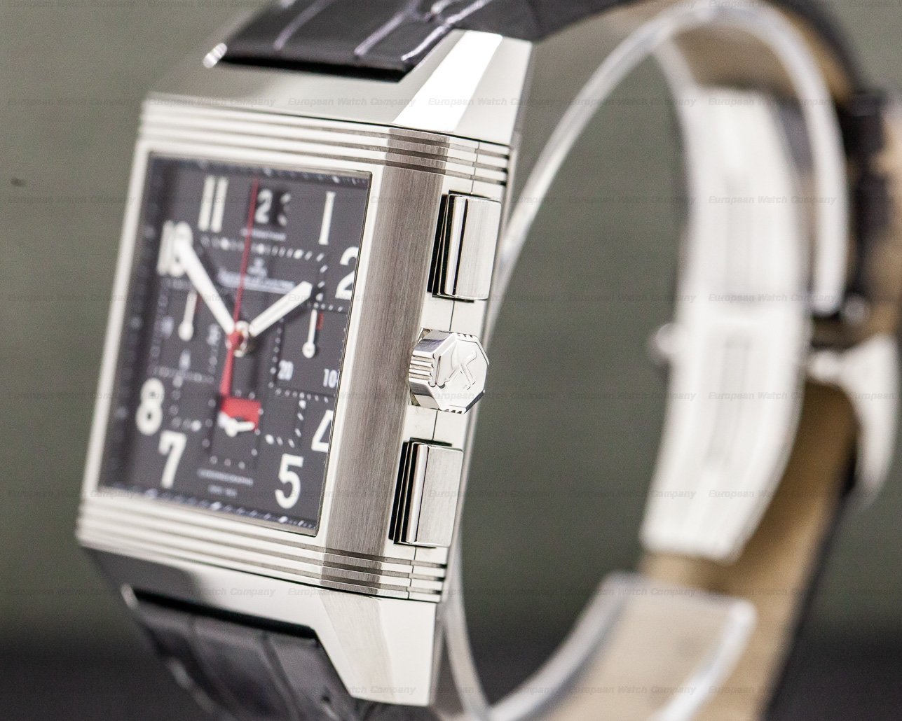 Jaeger LeCoultre Q702T470 Reverso Squadra Chronograph World Time Titanium Limited Edition