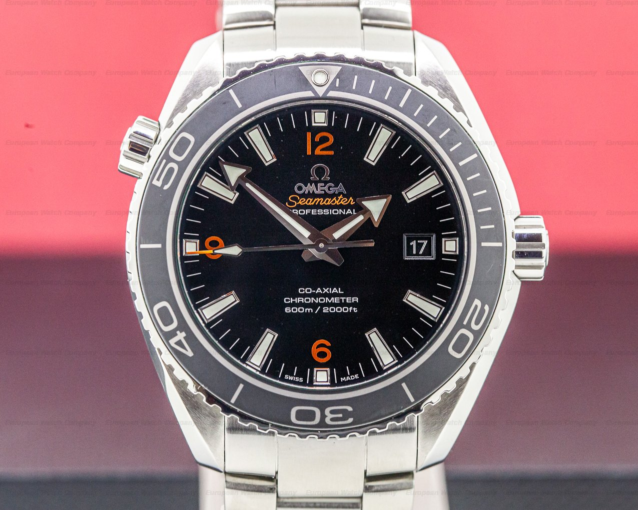 Omega 232.30.46.21.01.003 Seamaster Co Axial Planet Ocean SS 45.5MM