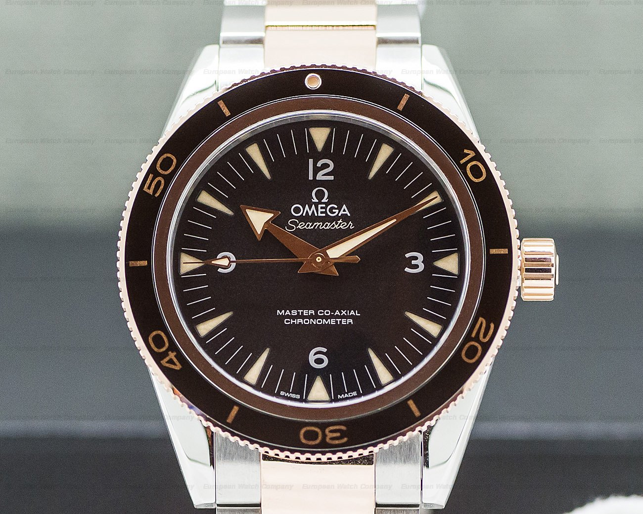 Omega Omega Seamaster 300M Master Co-Axial SS / RG 41MM Ref. 233.20.41.21.01.001
