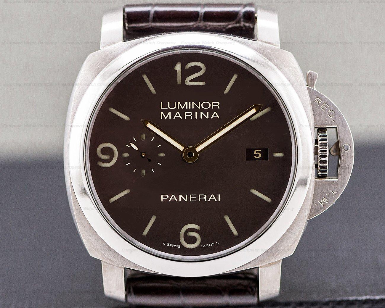 Panerai PAM00351 Luminor Marina 1950 3 Day Automatic / Titanium