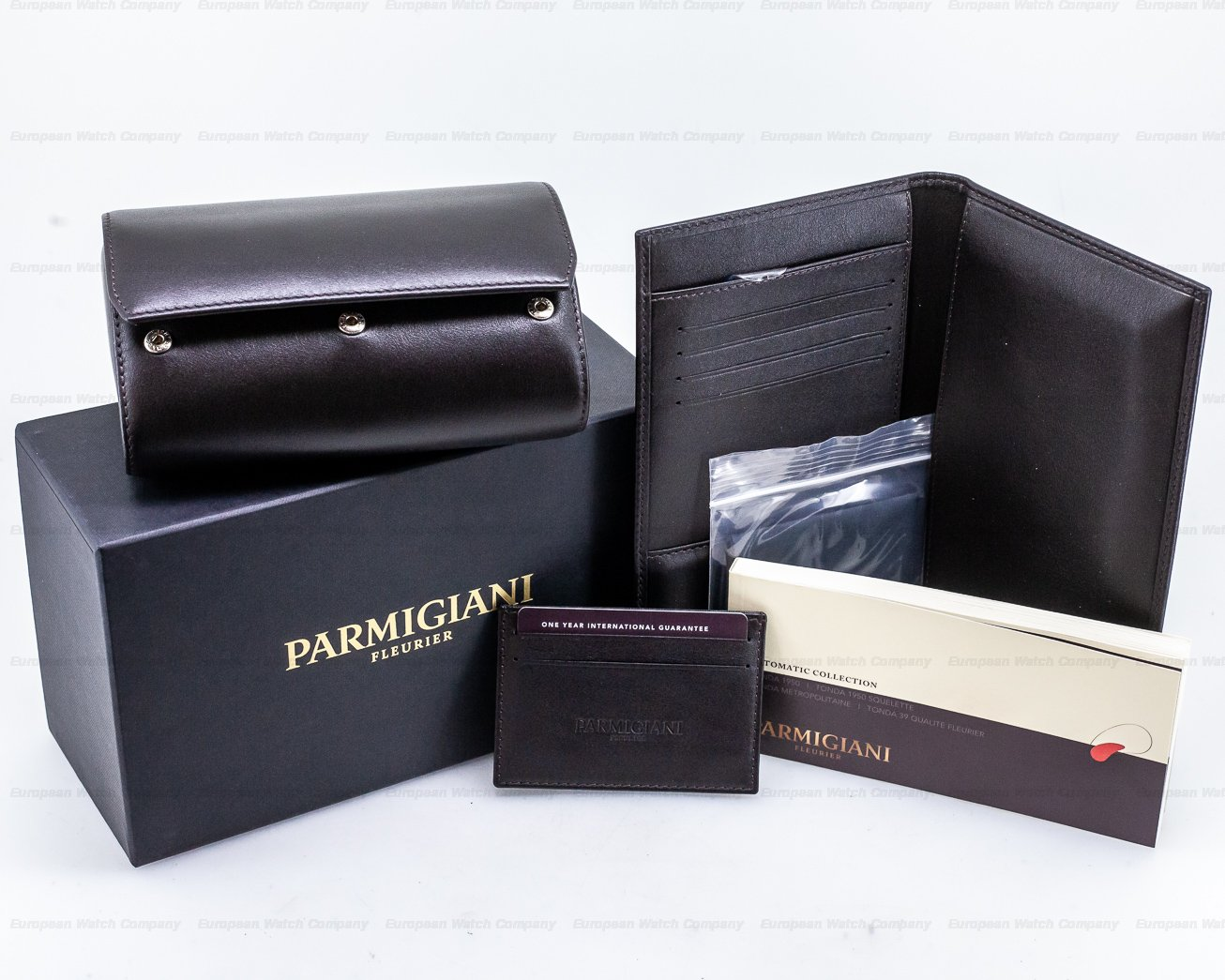 Parmigiani PFC267-1000300 Tonda 1950 18K Rose Gold Grey Dial 39MM