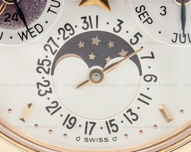 Patek Philippe 3940R Perpetual Calendar Rose Gold Silver Dial PATINA / Deployant