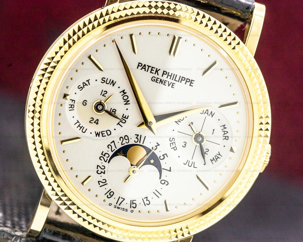 Patek Philippe 5039J-001 Perpetual Calendar 18K Yellow Gold FULL SET WORN TWICE