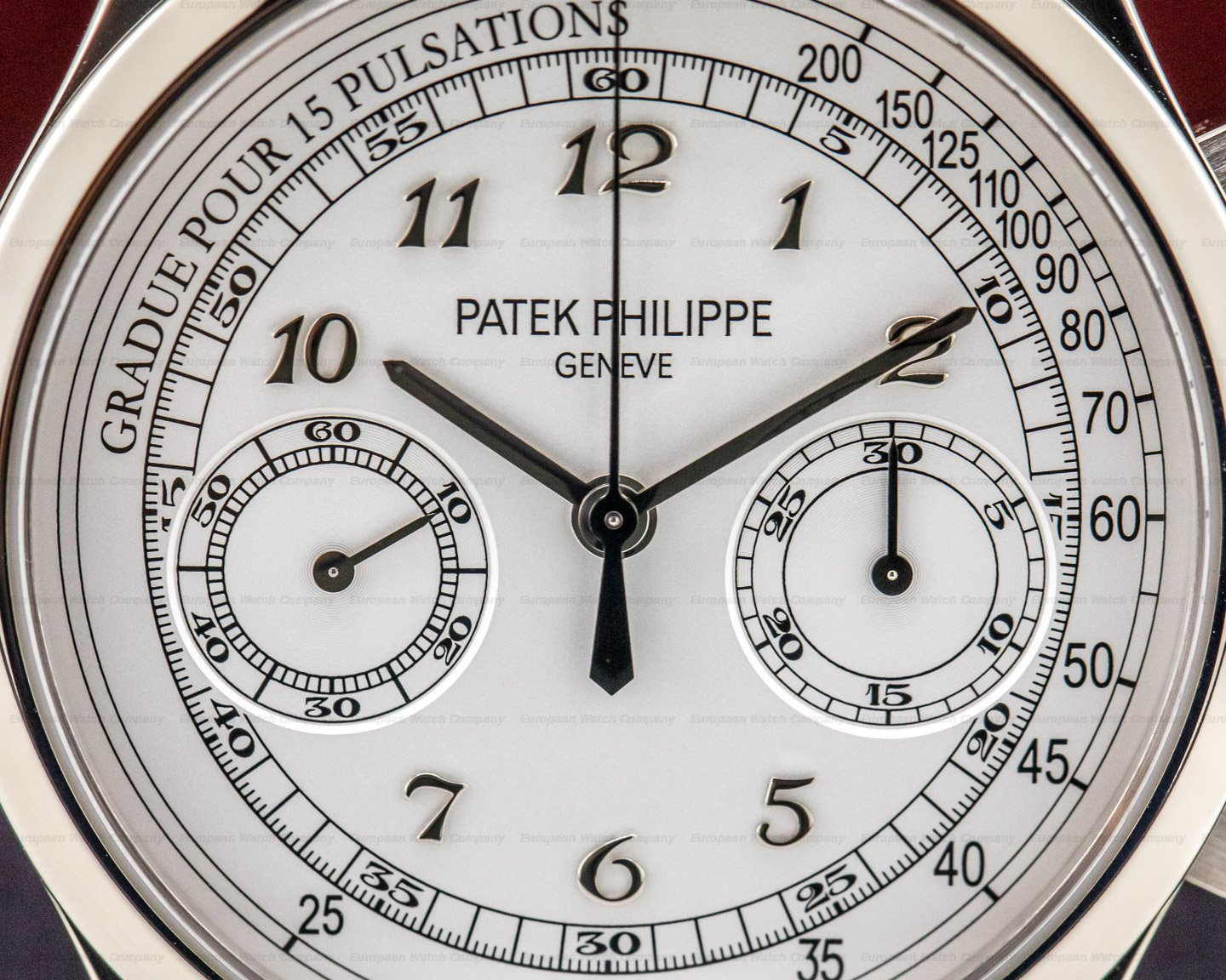 Patek Philippe 5170G-001 Chronograph 18K White Gold / Silver Pulsation