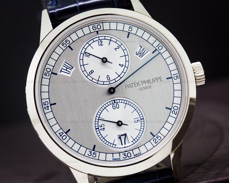 Patek Philippe 5235G-001 Annual Calendar Regulator 18K White Gold