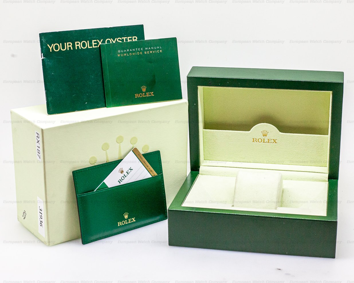 Rolex 114200 Oyster Perpetual olive Green Dial SS