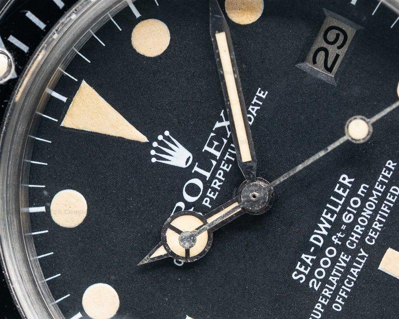 "Rolex 1665 Vintage Sea Dweller ""Great White"" c. 1978 Mark I"