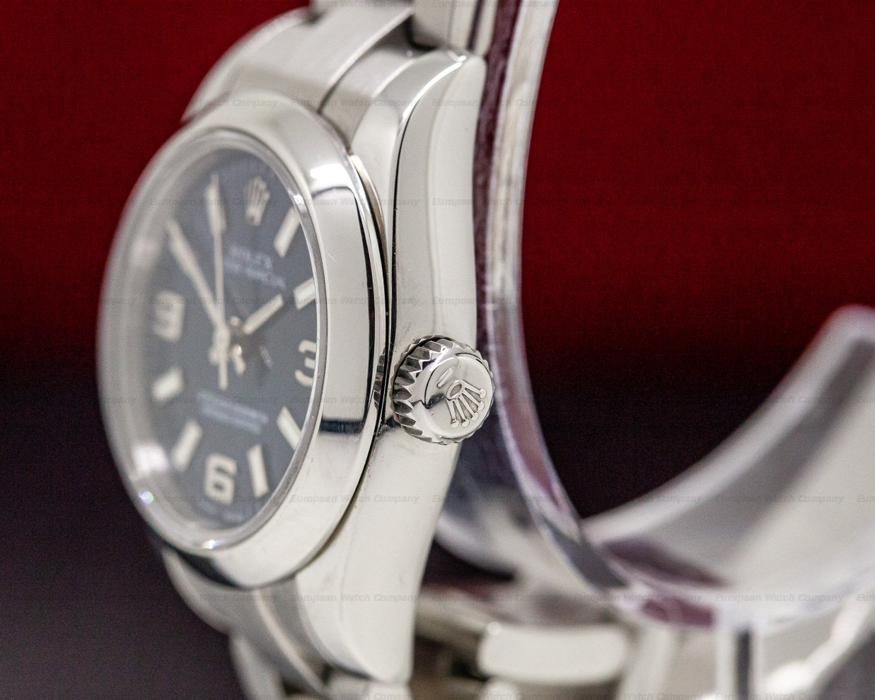 Rolex 176200 Lady Oyster Perpetual Blue Dial SS