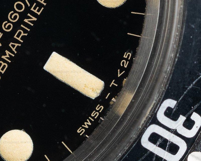 Rolex 5513 Gilt Gilt 5513 Submariner AMAZING DIAL Circa 1966