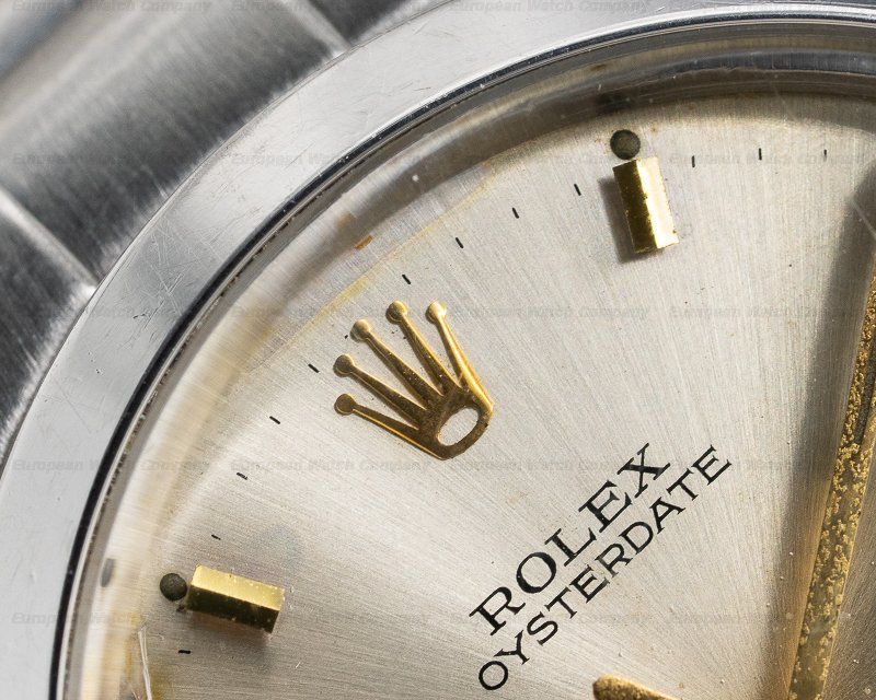 Rolex 6694 Oyster Date SS Silver Dial Bracelet