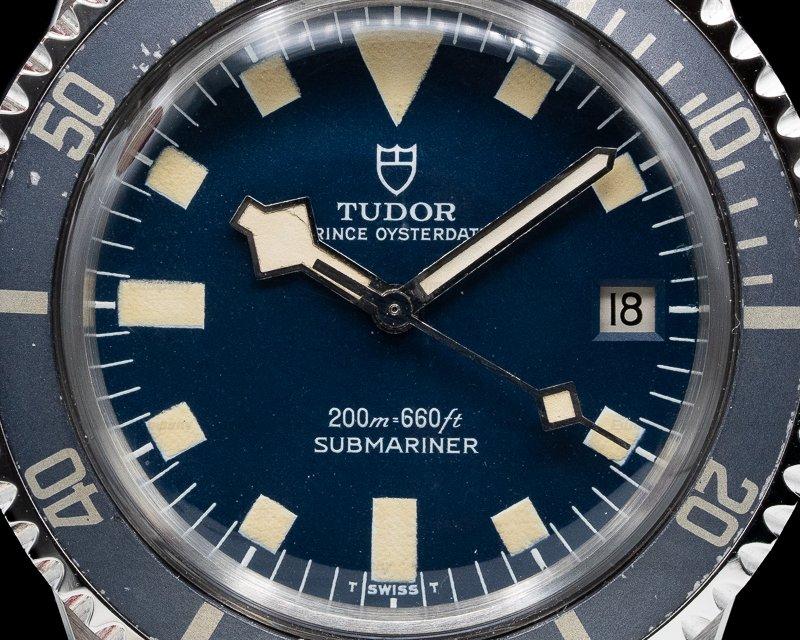 Tudor 9411/0 Vintage Snowflake Submariner Blue Dial PERFECT PATINA c. 1976