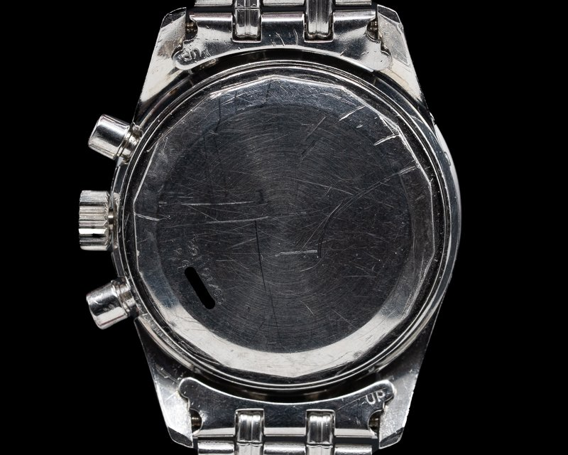 Universal Geneve 881101/03 Tri Compax Exotic Slate Dial / GF Bracelet OUTSTANDING