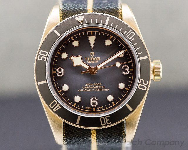 Tudor 79250BA Tudor Heritage Black Bay Bronze Slate Dial New For 2019