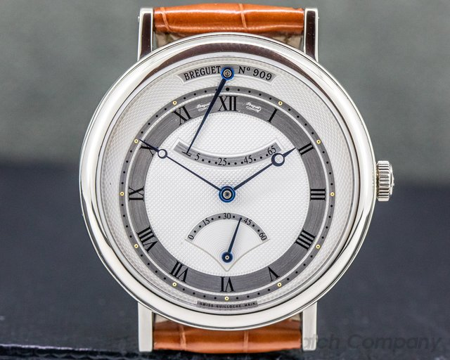Breguet 5207BB/12/9V6 Classique Retrograde Seconds 18K White Gold / Deployant