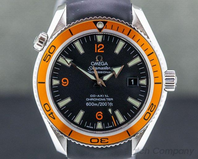 Omega 2209.50.00 Seamaster Planet Ocean Orange SS 42MM