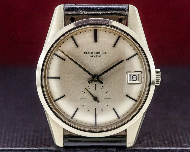 Patek Philippe 3558 Vintage 3558 Calatrava Automatic 18K White Gold