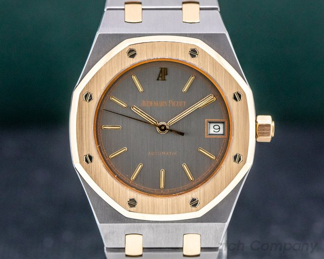 Audemars Piguet 14790.0.789 Royal Oak Cuir Automatic 18K Rose Gold / Tantalum