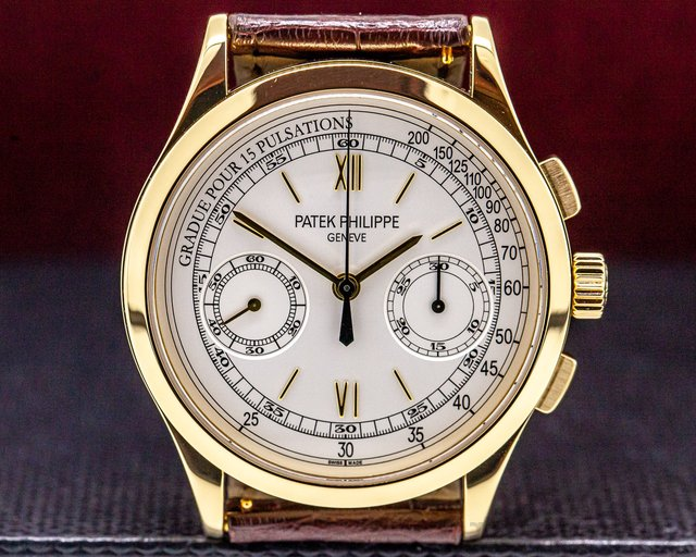Patek Philippe 5170J-001 Chronograph 18K Yellow Gold Pulsation Dial