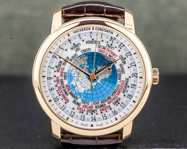 Vacheron Constantin 86060/000R-9640 Patrimony Traditionnelle World Time Rose Gold