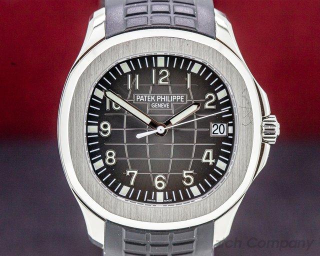 Patek Philippe 5167A-001 Aquanaut SS / Rubber FULL SET