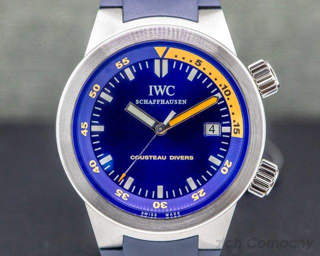 IWC IW354806 Aquatimer Automatic COUSTEAU DIVERS SS / Rubber FULL SET