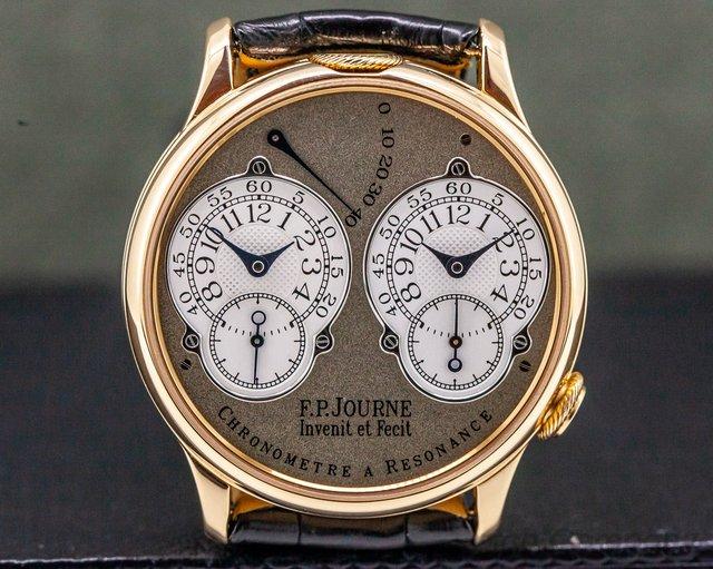 F. P. Journe Resonance Chronometre Resonance 18k Rose Gold 38mm BRASS MOVEMENT