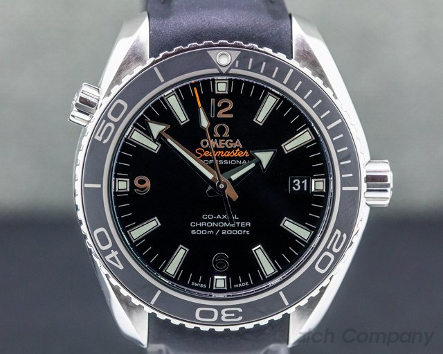Omega 232.32.42.21.01.003 Seamaster Planet Ocean SS / Rubber 42MM