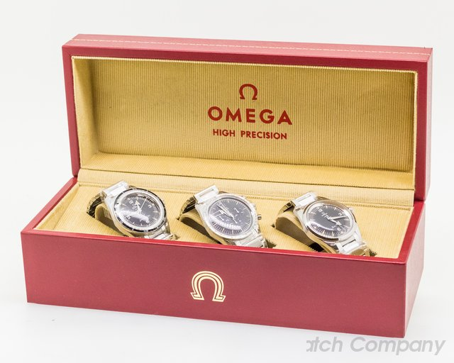 Omega 311.10.39.30.01.002 1957 Trilogy Set Limited Edition 3 Watch Set UNWORN