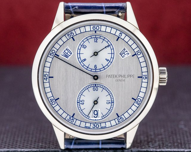 Patek Philippe 5235G Annual Calendar Regulator 18K White Gold