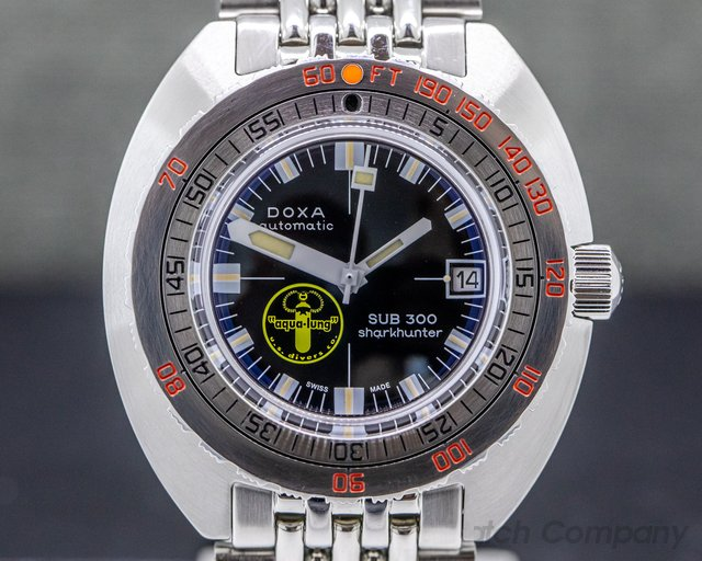 "Doxa SUB300 SUB 300 Professional ""Sharkhunter"" SS / SS Limited"
