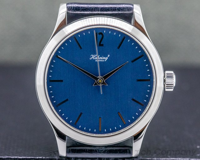 Habring ERWIN Habring Erwin Jumping Seconds Blue Dial Stainless Steel