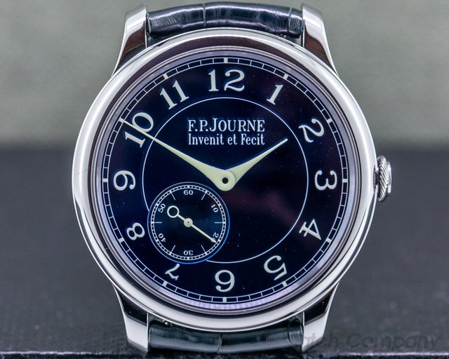 F. P. Journe Chronometre Bleu Chronometre Bleu Tantalum Blue Dial FIRST 100 MADE