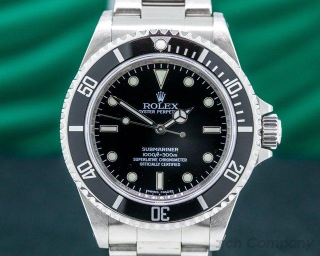 Rolex 14060 Submariner No Date SS 4 Line SHARP FULL SET 2010