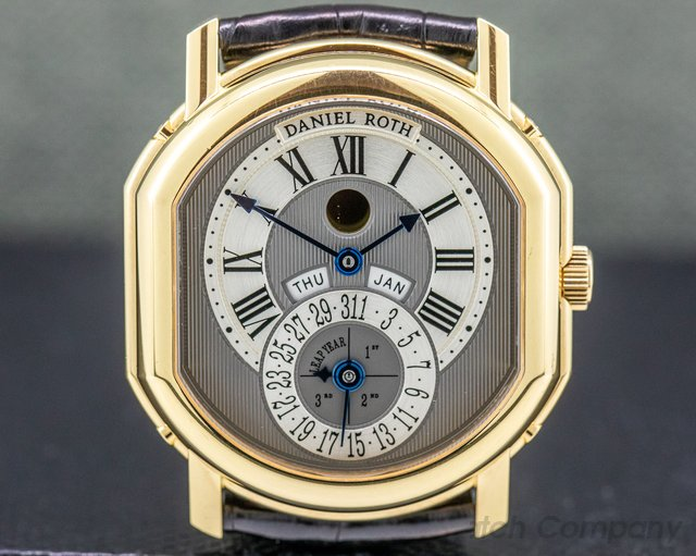 Daniel Roth 118.L.40.011.CN.BA Perpetual Moon phase 18k Yellow Gold