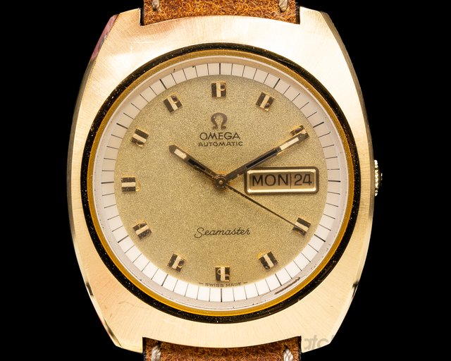 Omega 166.089 Vintage Seamaster Day Date BOX & PAPERS