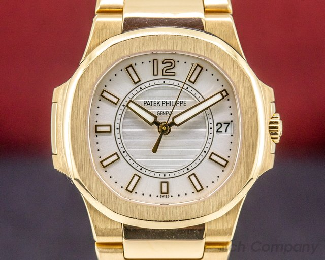 Patek Philippe 7011/1R Nautilus 18K Rose Gold Ladies Watch Quartz