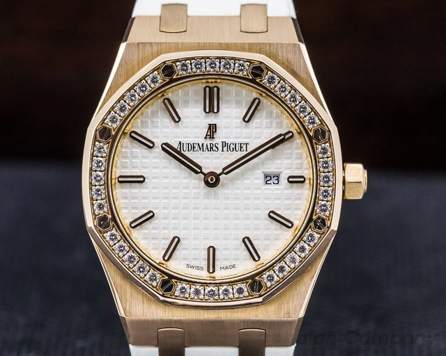 Audemars Piguet 67651OR.ZZ.D010CA.01  Royal Oak Ladies Quartz Rose Gold