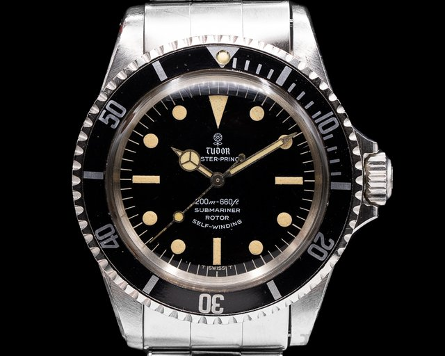 "Tudor 7928 Vintage Submariner ""Rose Logo"" Gilt Gloss Circa 1967 WOW"