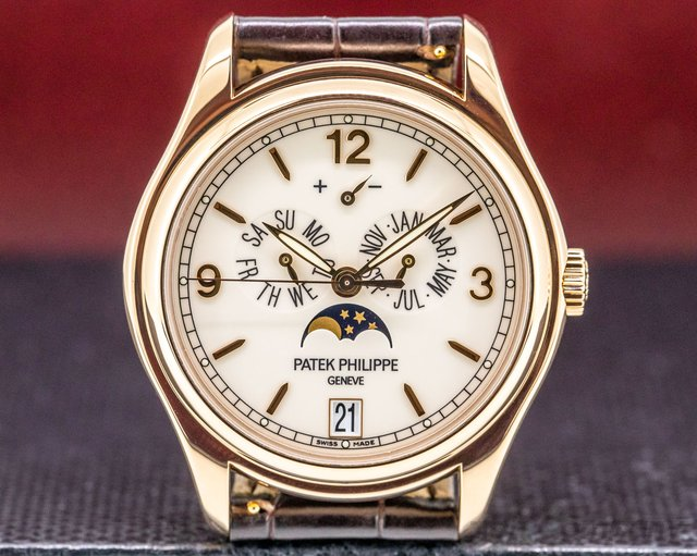 Patek Philippe 5146R Annual Calendar 18K Rose Gold Porcelain Dial 39MM
