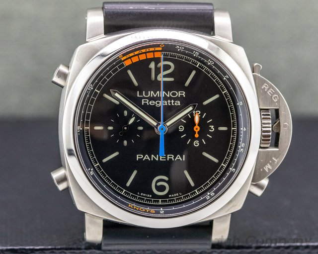 Panerai PAM00526 Luminor Regatta Flyback Chronograph Titanium