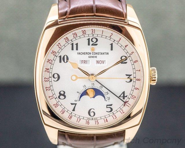 Vacheron Constantin 4000s/000r-b123 Harmony Complete Calendar 18K Rose Gold 40mm