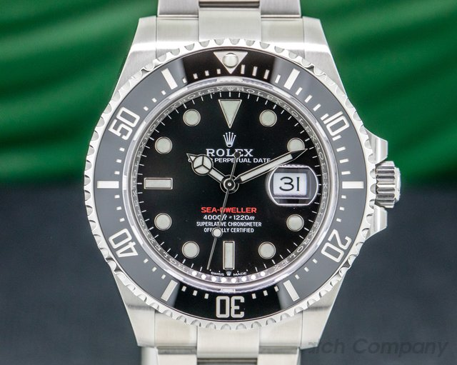 Rolex 126600 Sea Dweller RED 43mm SS UNWORN