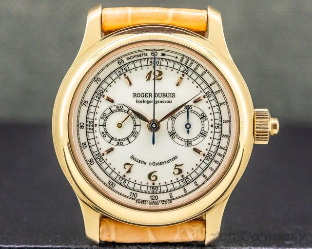 Roger Dubuis H40 65 5 Hommage Monopoussoir Chronograph H40 FULL SET RARE