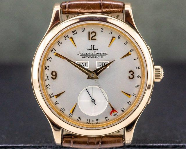 Jaeger LeCoultre 140.240.872 B Master Date 18K Rose Gold