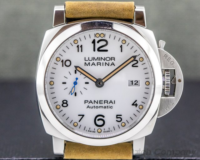 Panerai PAM01499 Luminor Marina 3 Days Automatic SS / Bracelet 42MM