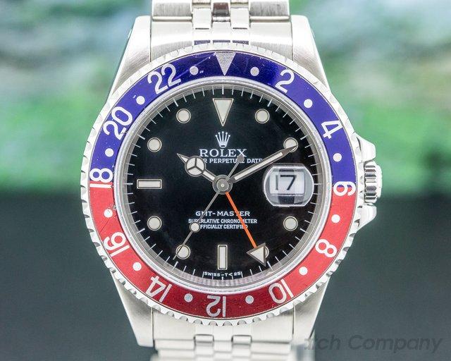 Rolex 16700 16700 GMT Master Red / Blue Pepsi Bezel