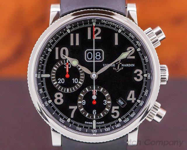 Ulysse Nardin 513-22-7 Marine Annual Calendar Chronograph SS / Strap 40MM