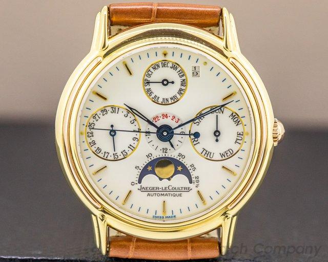 Jaeger LeCoultre 166.7.80 Odysseus Perpetual Calendar 18K Yellow & Rose Gold