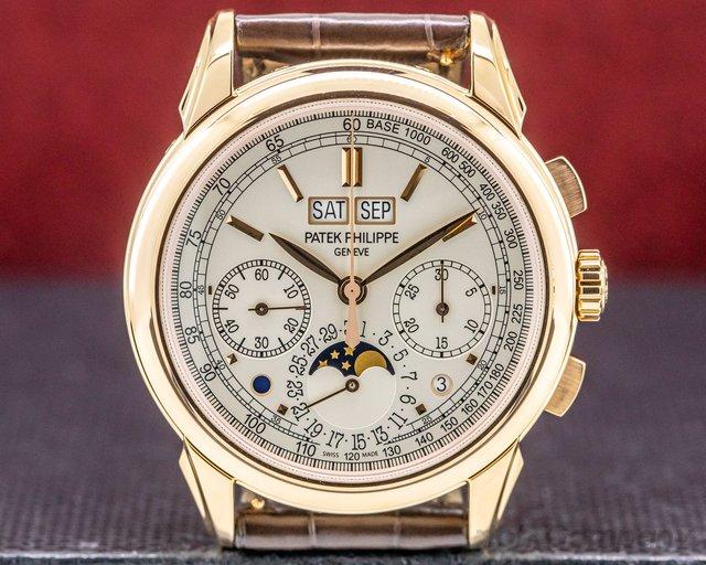 Patek Philippe 5270R-001 Perpetual Calendar Chronograph 18K Rose Gold