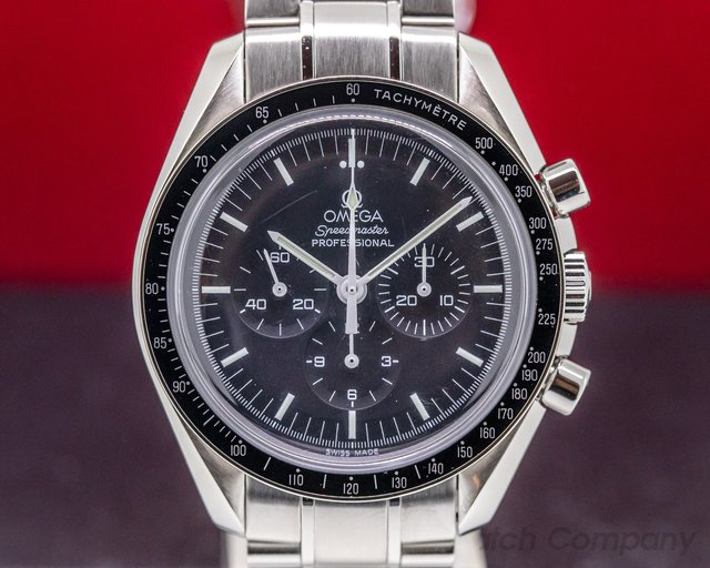 Omega 3570.50.00 Speedmaster Professional Black Dial SS / SS